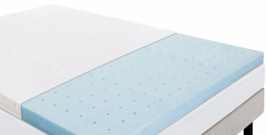 lucid gel mattress topper