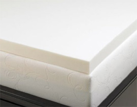 memory foam solutions mattress topper allsleep 3 inch