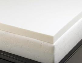 memory foam solutions mattress topper allsleep 3 inch